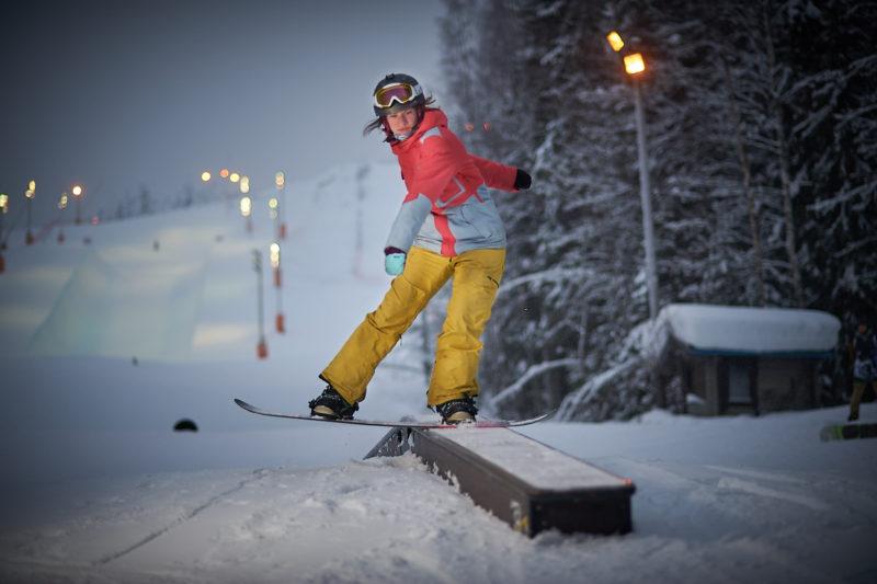 Школа сноуборда